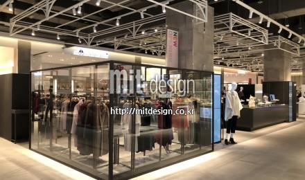 현대홈쇼핑 플러스샵 김포아울렛 타워존 1F 조성공사